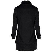Women's Plus Size Neck Long Sleeve Hoodies Sweatshirts