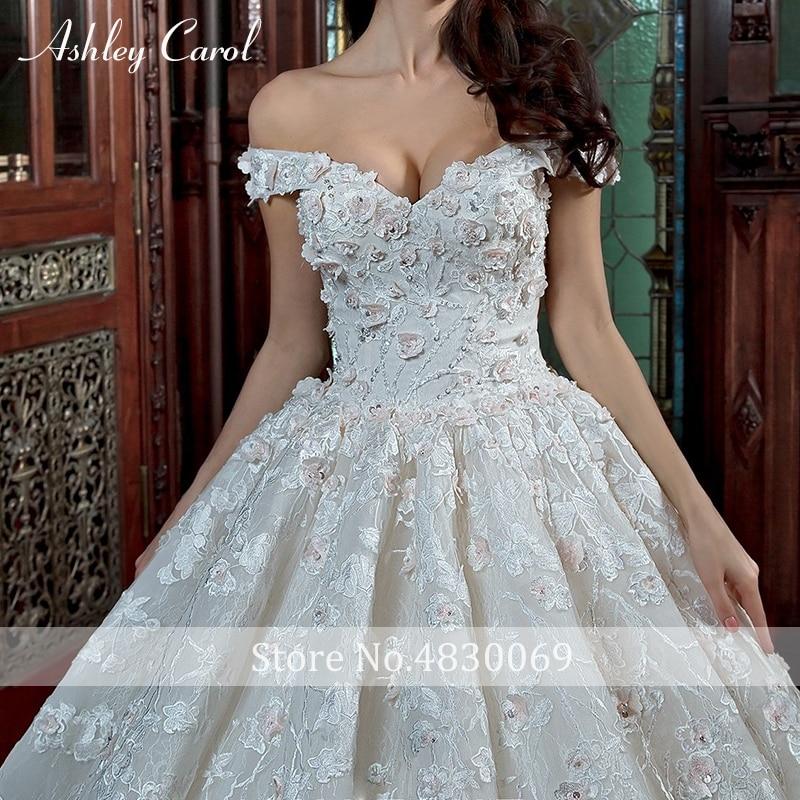 Nylablog Ashley Carol Luxury Ball Gown Wedding Dress Palace Dream Sweetheart Cap Sleeve Royal Train Princess Bridal Gown Vestido De Noiva,Winter Wonderland Themed Wedding Dresses