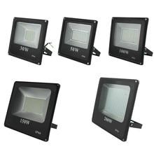Chengييلت LED كشاف ضوء 30 واط 50 واط 100 واط 200 واط AC220V مقاوم للماء IP66 الأضواء في الهواء الطلق مصباح الحديقة Led الكاشف الإضاءة