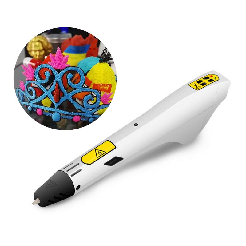 Kids USB Charging 3D Stereo Printing Pen Generation 3D Doodle Pen With PLA Filament Refills For Children Students Gift