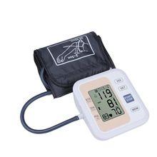 Автоматическая цифровая предплечье крови Давление монитор Heart Beat частоты пульса метр тонометр Сфигмоманометры пульсометр