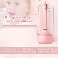Original Children Cute Electric Toothbrush Rechargeable 360 Degree For Kids Teeth Brush Advance Power Pro Health Tooth Brush