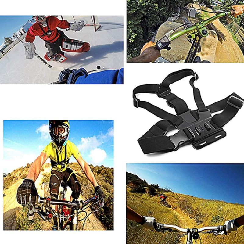 Action Camera Accessories Kit for Hero 7 Hero 2018 6 5 4 Hero Session SJCAM SJ4000 SJ5000 SJ6000 AKASO EK7000 Apeman A70 APEM in Sports Camcorder Cases from Consumer Electronics