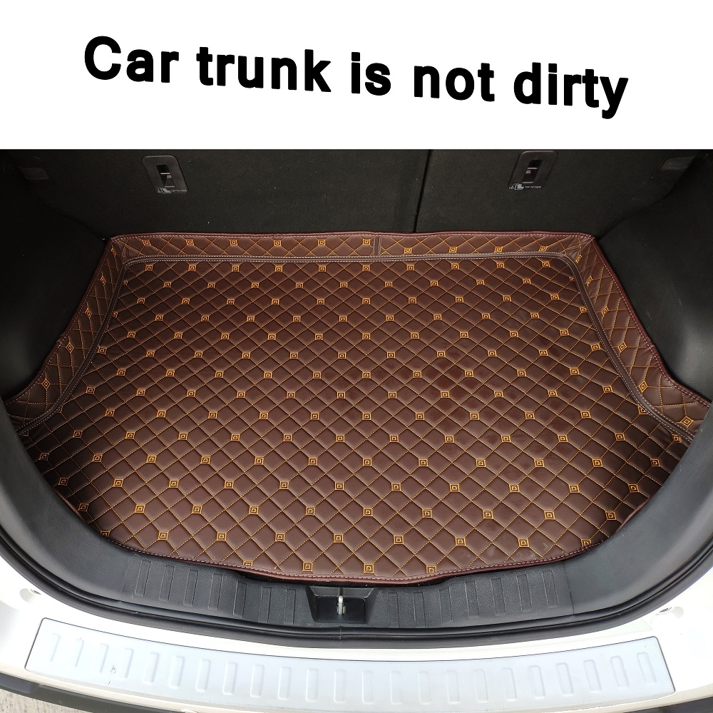 ZHAOYANHUA Custom fit Car Trunk mats for Mercedes Benz <font><b>ML</b></font> 320 <font><b>350</b></font> W164 <font><b>W166</b></font> W163 car styling carpet image