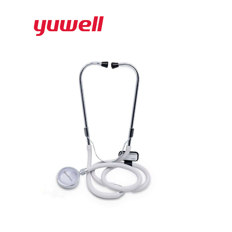 Yuwell Stethoscope Professional Medical Stethoscope Detector Fetal Cardiology Stethoscopes Blood Pressure Home Medical Equipment