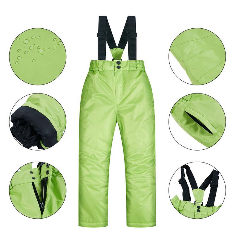 Veste de Ski d'hiver pantalon costume pour fille hiver imperméable à l'eau chaude Ski neige costume pour enfants fille cadeau de noël pour les enfants
