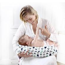 2 шт./компл. подушки для мам для новорожденных u-образная подушка для грудного вскармливания хлопковая Подушка для кормления ребенка подушка для талии детская подушка
