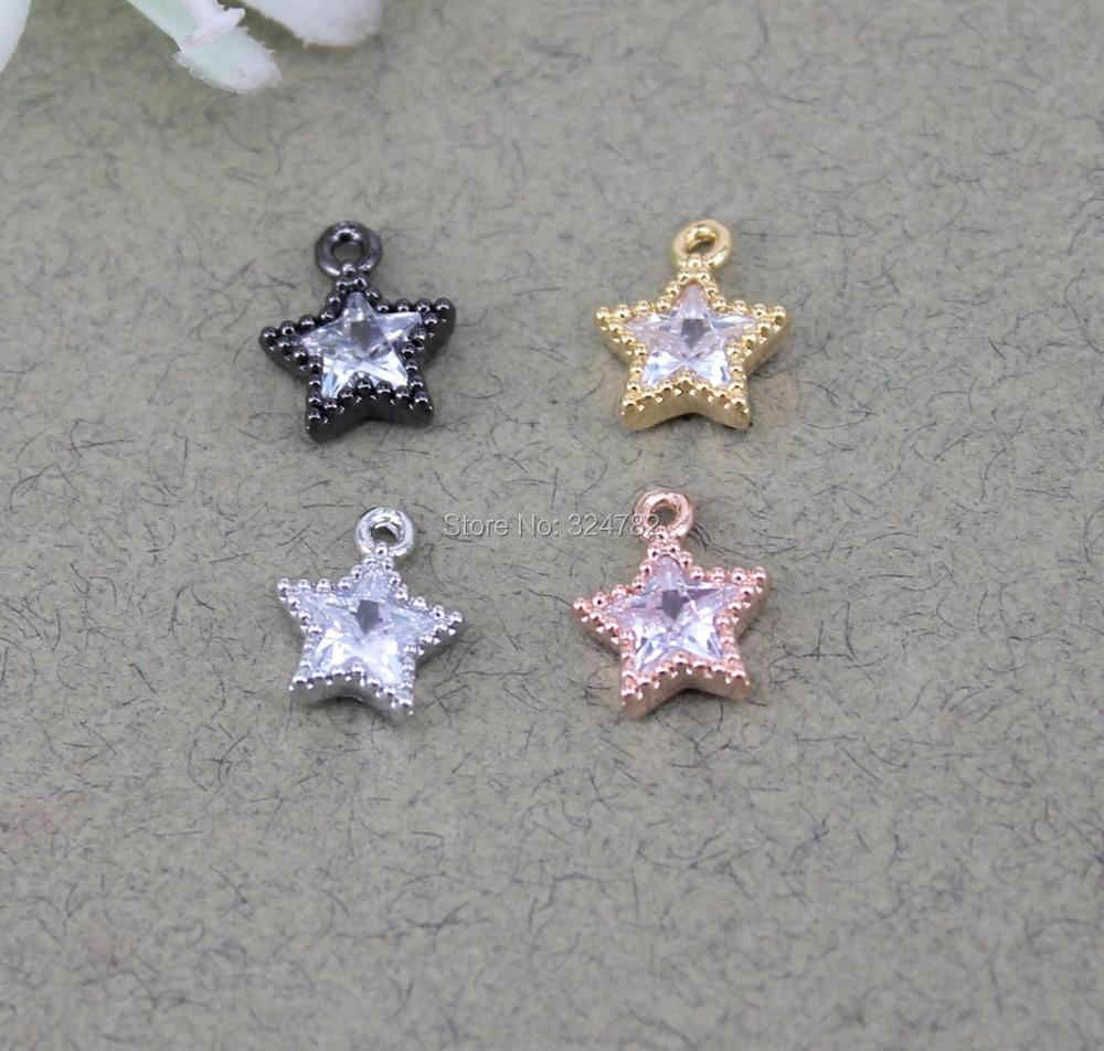 10-20pcs Cz cross pendant charm,multicolor cubic zirconia micro pave pendant charm,necklaceearringbracelet jewelry component