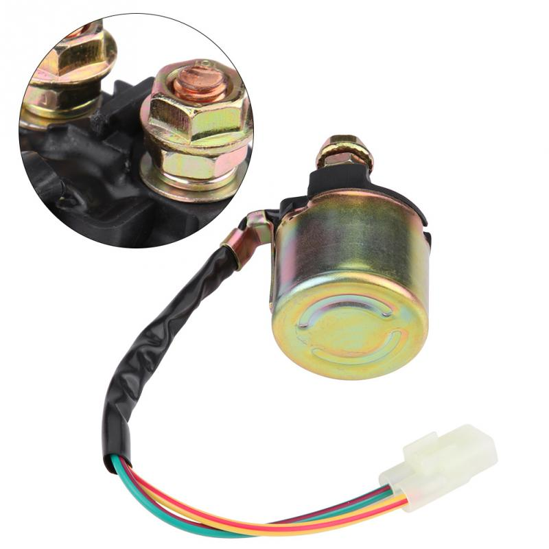 High Reliability Plug In Motorcycle Starter Solenoid Relay