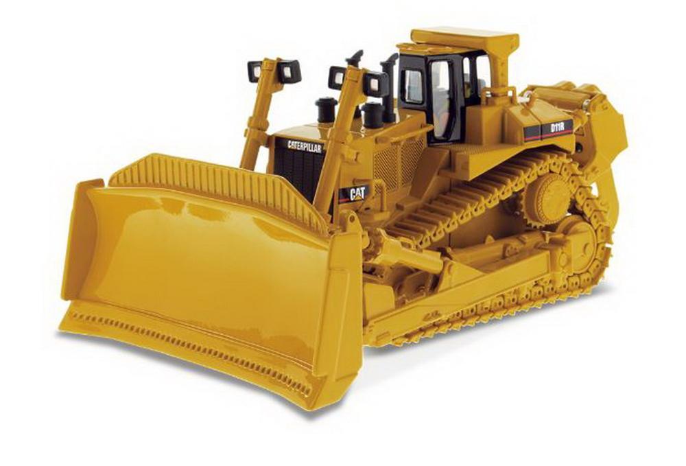 Modèle moulé sous pression de tracteur de Type chenille Cat D11R à l'échelle Masters 1/50 #85025