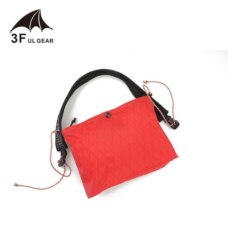 3F UL Gear Simple Life 5 Cross Body Bag XPAC Waterproof Ultralight Portable Bag Travel Shopping Camping Hiking Only 65g