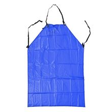 Promotion! Plastic Apron Cooking Apron Bib Apron Kitchen Apron Workwear blue