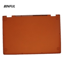 BINFUL New Laptop Replace Cover For Lenovo YOGA 13 Orange D Shell 11S30500246 Laptop Bottom Base Cover lower case stock original new blue laptop cover for lenovo ldeapad u310 bottom base cover d case shell 3alz7balv30