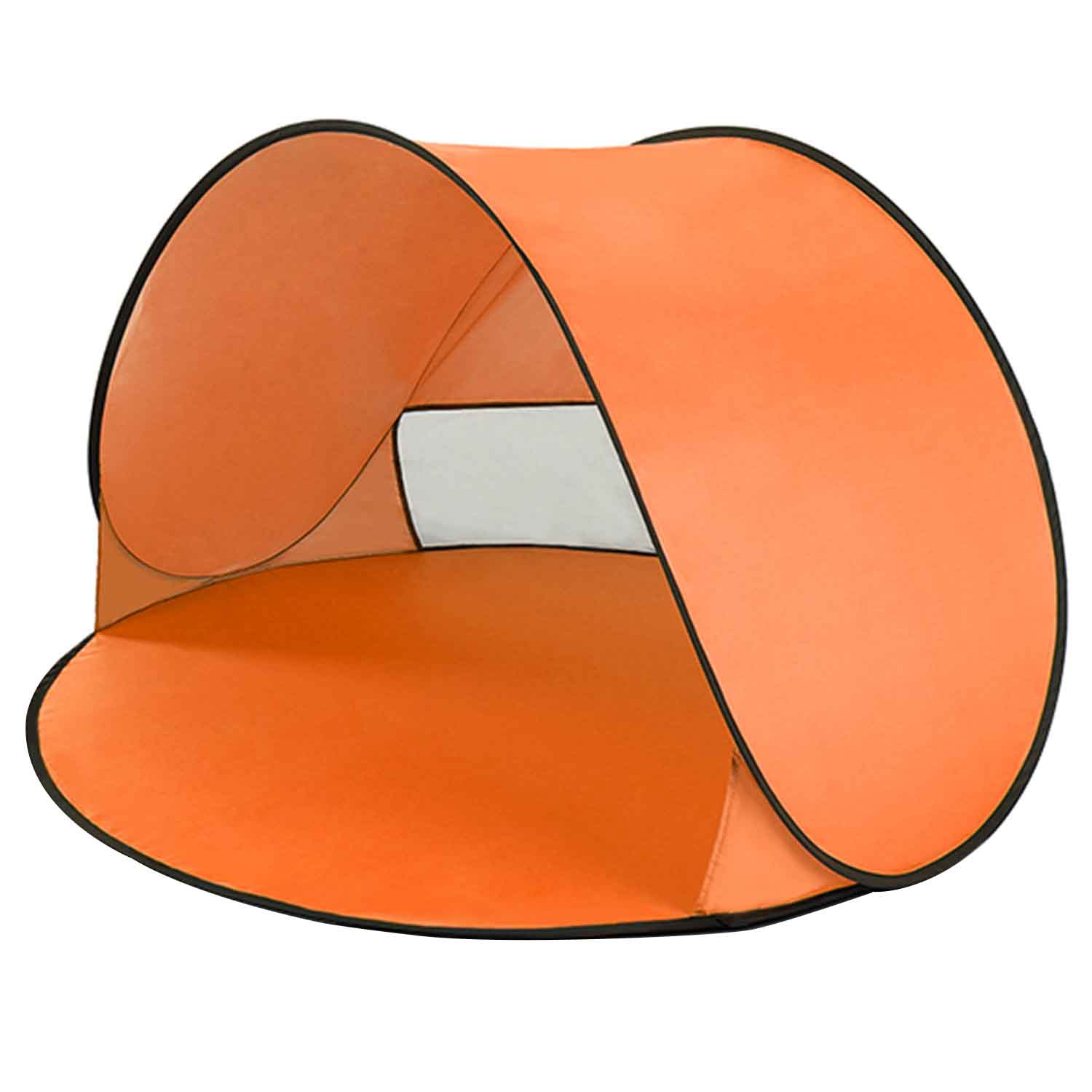 Orange Outdoor Camping Tents Instant Up Tent Baby Beach Tent Cabana Portable Anti Uv Sun Shelter For Camping Fishing Hiking