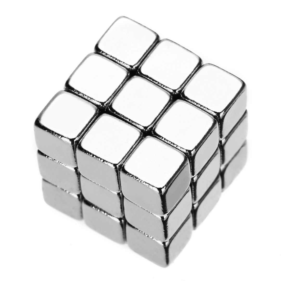 Mini małe magnesy ziem rzadkich N45 niklowane magnesy neodymowe super silny sześcian prostopadłościanu magnetyczny 5X5X5mm 5/10/20/50 sztuk