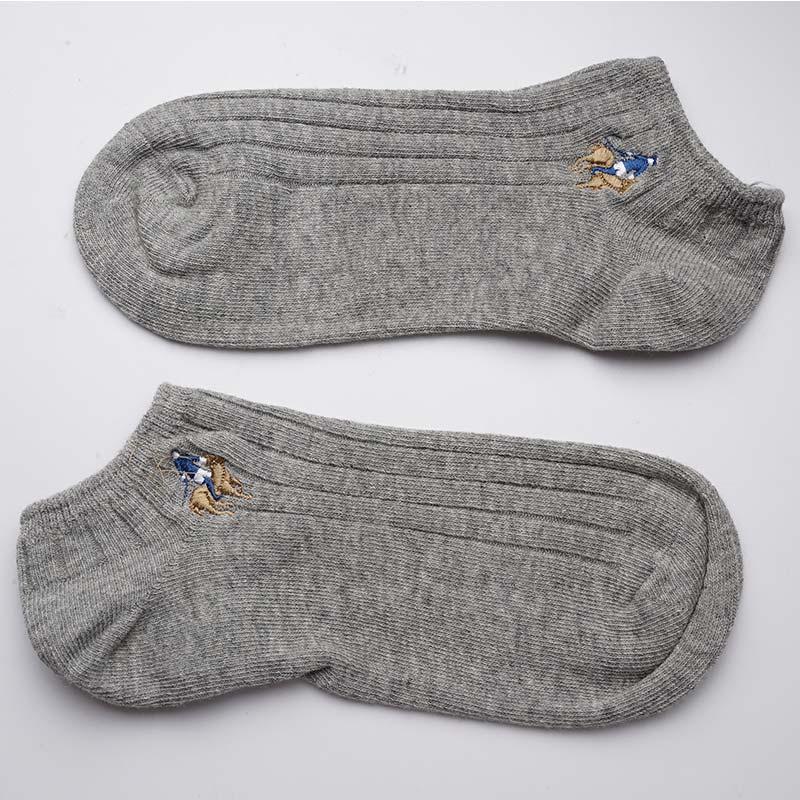 1 Paar Marke Socken Baumwolle Herren Socken Herren Mesh Baumwolle No Show Loafer Ankle Socken Nyy9897