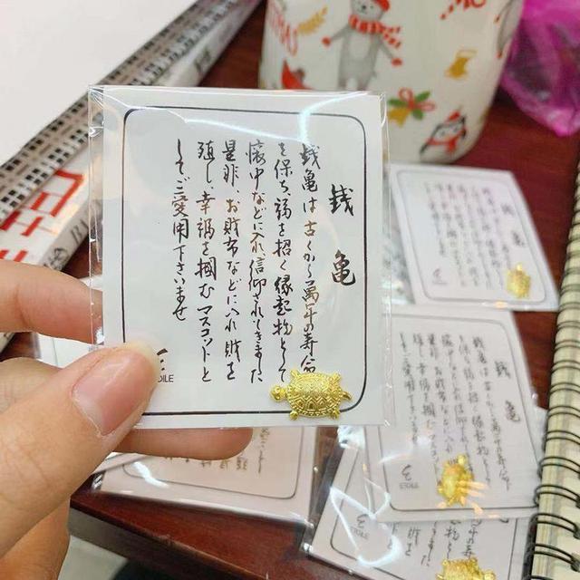 Feng Shui złote pieniądze żółw bogactwo japoński dom dekoracja biurowa ozdoby stołowe prezent przynoszący szczęście strzegący modląc się Fortune Tool
