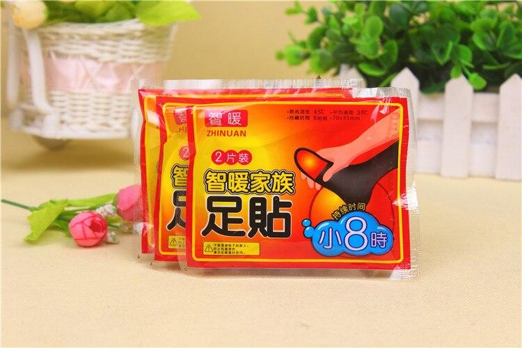 Hot sale 20 40 pçs/lote Corpo Mais Quente Adesivo Adesivo De Calor Pads Patches Foot Pad Manter Os Pés Quentes Pacotes de Calor Longo com duração de Patch
