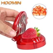 HOOMIN инструменты для резьбы по фруктам клубника нержавеющая сталь лезвие ремесло салат резак форма для украшений для тортов Кухонные гаджеты