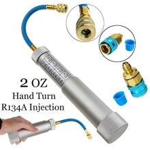 Автомобильный адаптер R134A Кондиционер AC масло ручной поворот наполнитель инструмент для инъекций авто Кондиционер A/C Инструменты инжектор красителя аксессуар