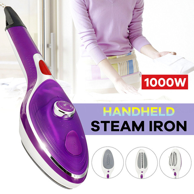 Handheld Garment Steamer Appliances Vertical Steamer with Steam Irons Brushes Iron for Ironing Clothes for Home 220V 1000W
