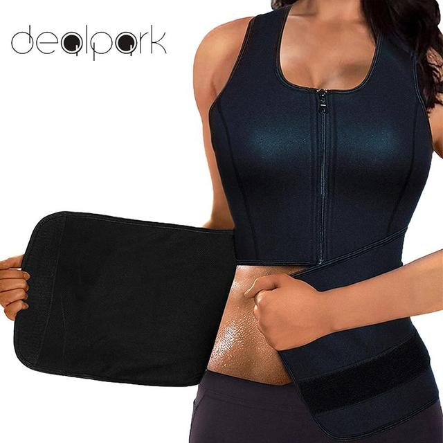 8347d76618 Plus Size 3XL 4XL Body Shaper Women Waist Trainer Zip Tummy Cincher Vest  Underbust Control Corset Slimming Belt Shapewear HOT