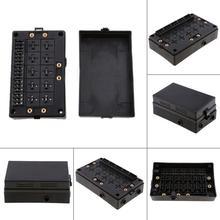 car blade fuse holder relay socket black box 18 way blade fuse holder car  automotive insurance