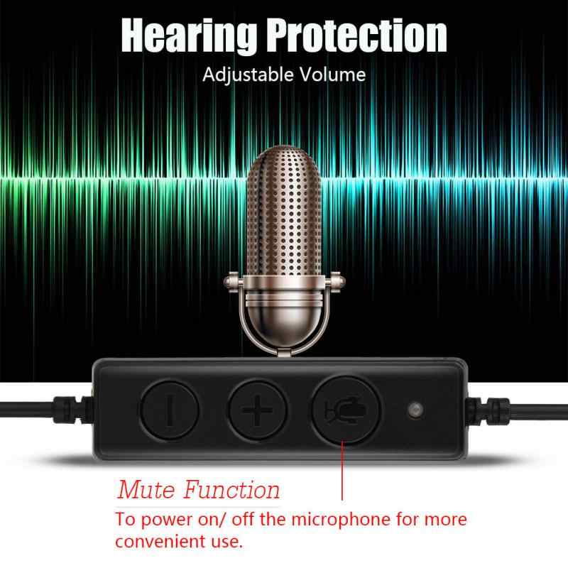 USB Call Center беспроводная гарнитура Clear Stereo звук USB Call Center гарнитура с микрофоном