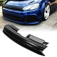 Hex Mesh Honeycomb Grill For GTI Style Badgeless Hex Mesh Grille Hood Grill Universal for VW Golf MK6 Jetta 2010 2014 Hood Grill