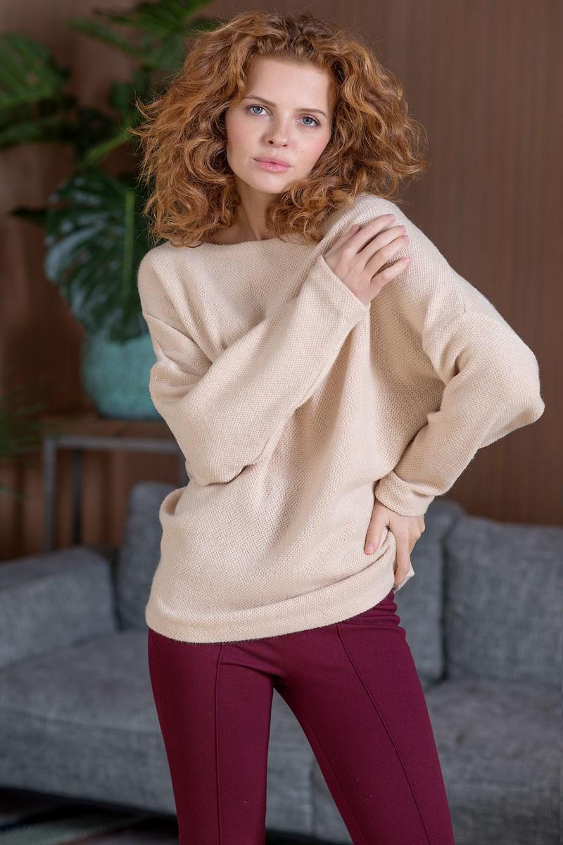 Sweatshirt 4701400-03 flower print pullover sweatshirt