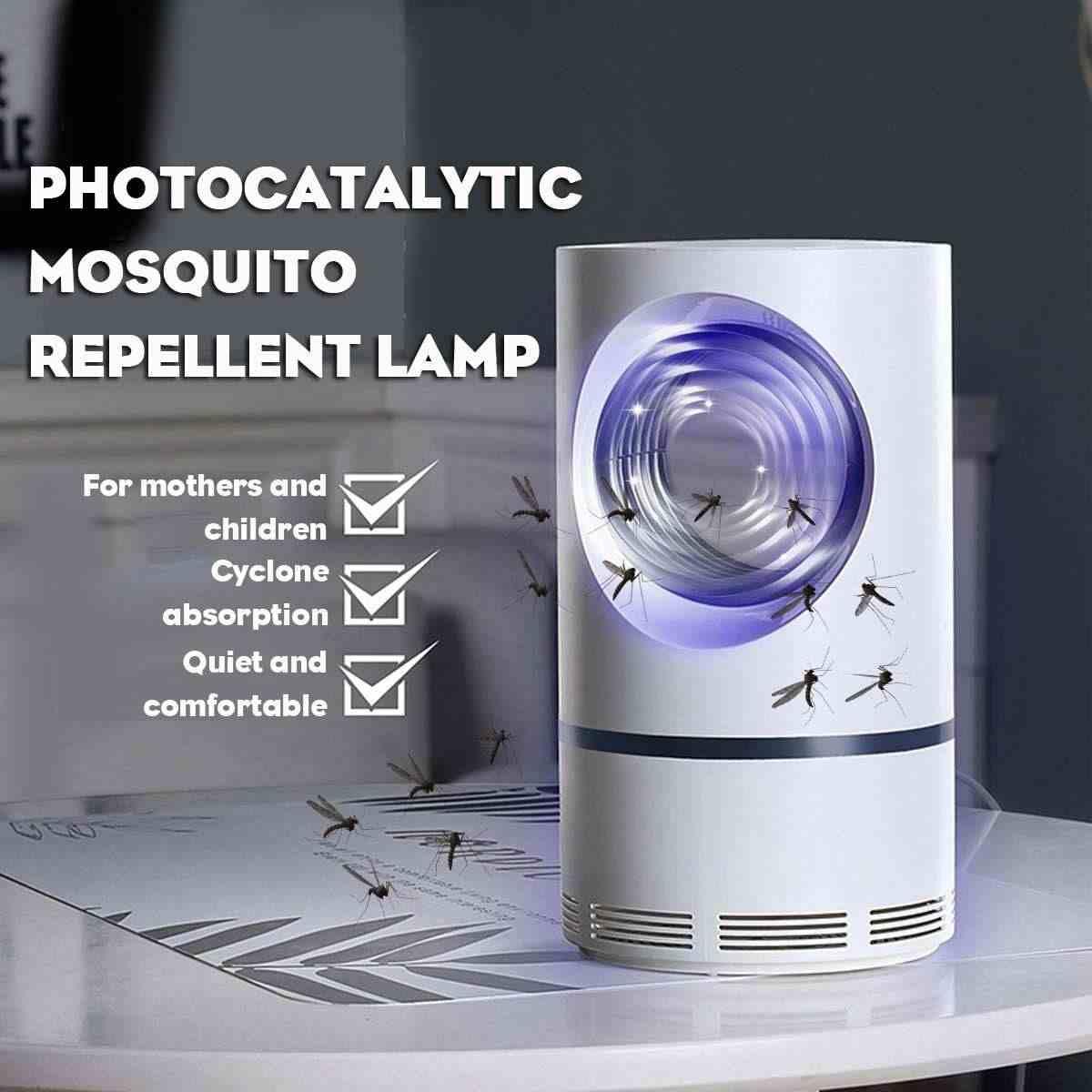 110-220 V USB Fotokatalitik Nyamuk Lampu LED Bug Anti Nyamuk Lampu Perangkap Serangga Rumah Ruang Tamu Kamar pengendalian Hama