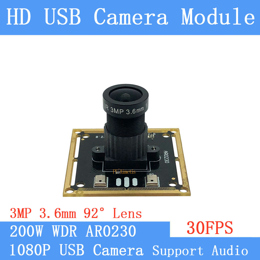Wide Dynamic Face Recognition 2MP 30FPS USB camera module 1920*1080P CCTV Surveillance Camera Support audioWide Dynamic Face Recognition 2MP 30FPS USB camera module 1920*1080P CCTV Surveillance Camera Support audio