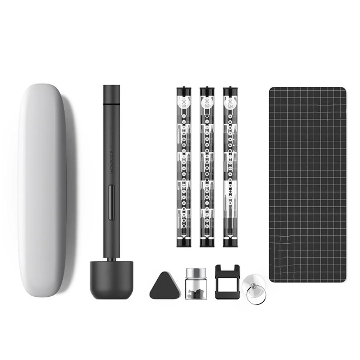 Per Wowstick 1F Pro Mini Cacciavite Elettrico Ricaricabile Cordless Power Screw Driver Kit HA CONDOTTO LA Luce Batteria Al Litio Operato