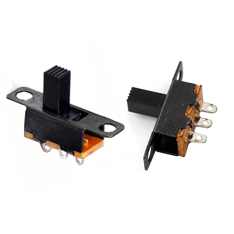 20/50pcs/lot Micro Slide Switch 3PIN 2 Position 1P2T ON-OFF Toggle Switch Handle Length 6mm SS12F15VG6 SS12F15VG5