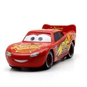 Image 4 - 39 نمط البرق ماكوين بيكسار سيارات 2 3 المعادن سيارات مصنوعة بالضغط ديزني 1:55 مركبة معدنية جمع طفل لعب للأطفال الصبي هدية