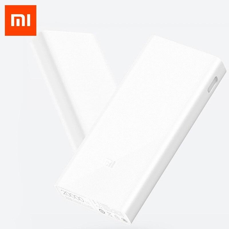 D'origine batterie externe de xiaomi 20000 mAh 2C chargeur portable Soutien QC3.0 Double USB mi batterie externe Banque 20000 pour téléphones portables - 2