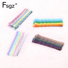Fashion Hairpins For Girls Wave Type Wire Clips Macaron Colors Hair Clips Bobby Pin Headwear Hair Device Clamps Hair Accessories fashion hairpins accessories plated clips hair pin ponytail