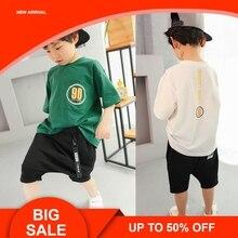 Boys Clothes Set for Summer Kids Children Short Sleeve T-Shirt Shorts Outfit