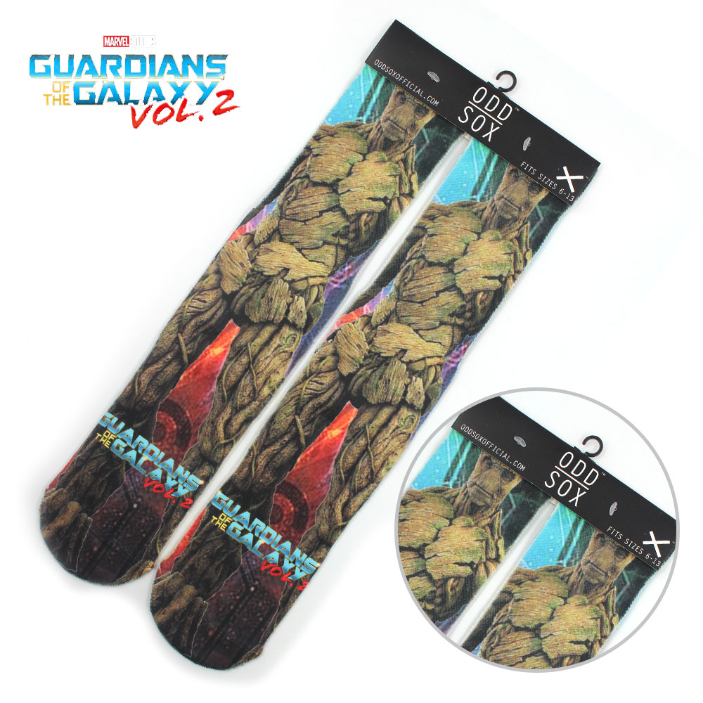 """4x16"""" Marvel Avengers Guardians of the Galaxy Cotton Socks Colorful Stockings Tights Cosplay Costume Unisex Fashion Gifts"""