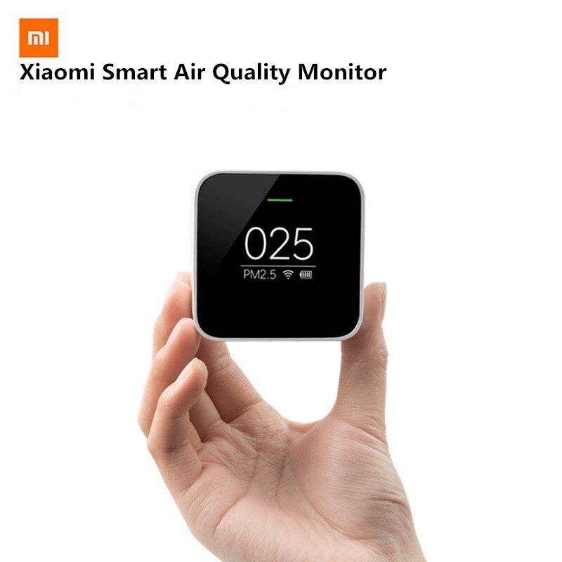 Xiao mi mi jia PM2.5 Détecteur Xiao mi Air Qualité Testeur Écran OLED Smart Smart Sensor Control APP Adapter mi purificateur d'air Pour la maison