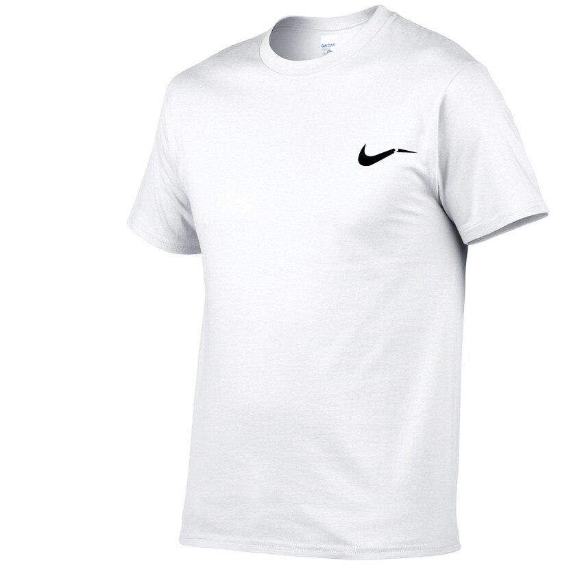 Schmuck & Zubehör 2018 Sommer Neue Hohe Qualität Männer T Shirt Beiläufige Kurze Hülse O-ansatz 100% Baumwolle T-shirt Männer Marke Weiß Schwarz T Hemd