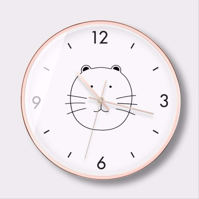 New 12inch/14inch 3D Wall Clock Large Size Nordic Silent Movement Wall Clock Simple Mute INS Wall Clock Modern Design Home Decor