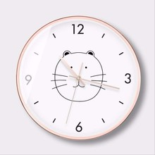 New 12inch/14inch 3D Wall Clock Large Size Nordic Silent Movement Simple Mute INS Modern Design Home Decor