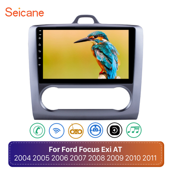 Seicane Android 9.0 2Din Head Unit WiFi Car Radio Stereo GPS Multimedia Player For Ford Focus Exi AT 2004 2005 2006 2007-2011 image