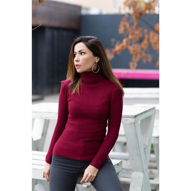 [Available with 10.11] Turtleneck. Color Wine red. wine red wine reveals ark solid wood elliptical wine red wine tea table
