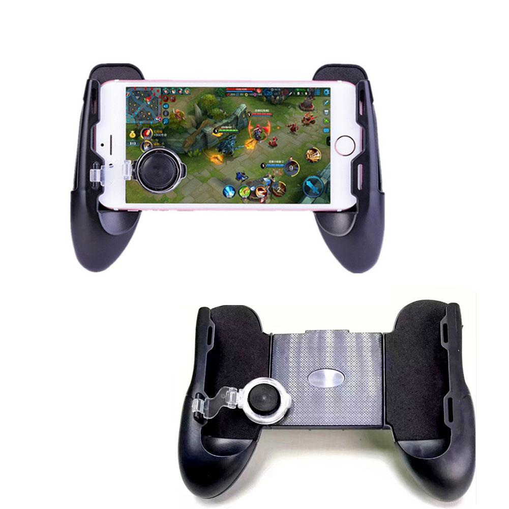 Image 2 - Mobile Legends New Three In One Handle Mini Handle Assisted Game Handle Holder Three in one Design Game Handle New-in Gamepads from Consumer Electronics