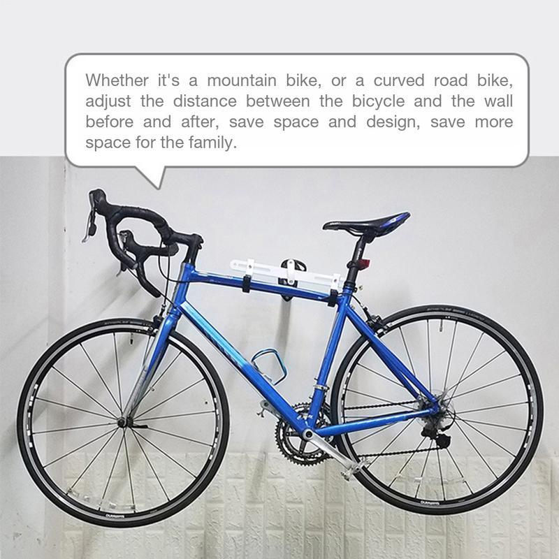 Support de stockage réglable cadre de vélo cadre de vélo Garage support mural système de stockage de vélo hangar intérieur crochet Vertical