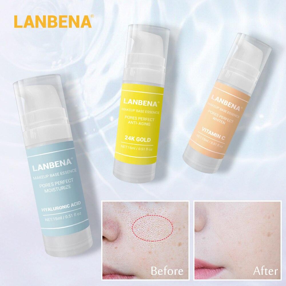 Makijaż baza esencja podkład do makijażu serum do twarzy zmniejszanie porów olejek nawilżający kontrola rozjaśnić podkład kosmetyczny pielęgnacja skóry 1