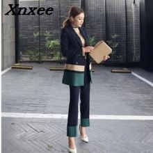 Business suit set women blazer+pants two pieces set