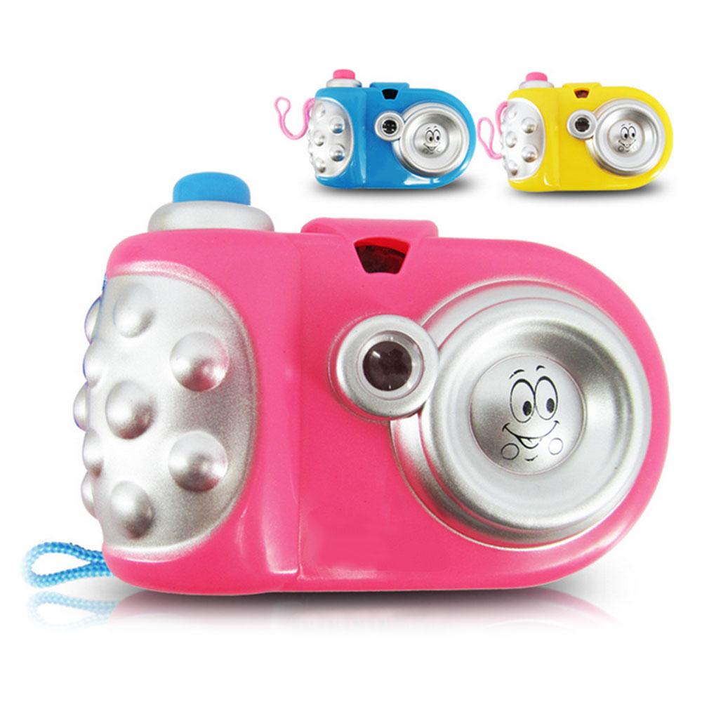 Мультяшная световая проекционная камера обучающая игрушка для обучения подарки для детей